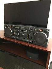 PANASONIC RX-DS660 STEREO BOOMBOX CASSETTE AM/FM RADIO ACOUSTIC AIR SUSPENTION