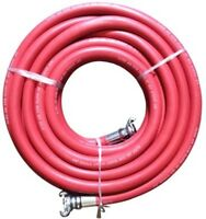 Jgb Eagle Red Jackhammer Rubber Air Hose, 3/4 Universal (chicago) Couplings, 50 on sale