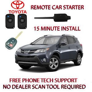 Image Is Loading 2016 2017 2018 Toyota Rav4 Remote Start No