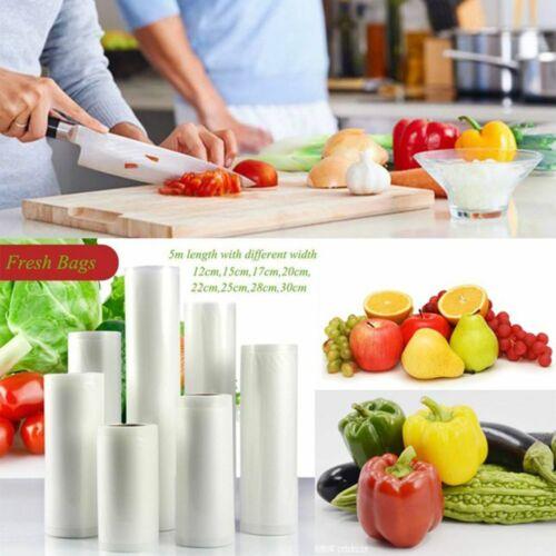 5//1Pack Rolls for Food Saver Universal Vacuum Sealer Bags 15//17//20//25//30x500cm