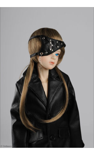 Dollmore New Model /& SD Size Cross Leather Eye Patch Black