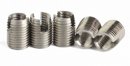M26 Stainless Steel Nut Solid Insert Thread Repairing Metal Threads Select M2