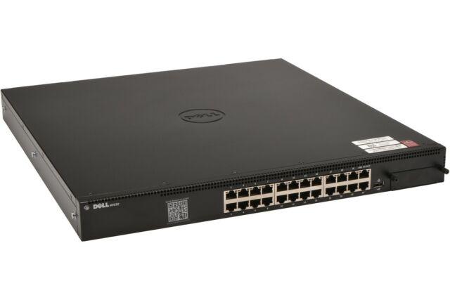 Dell N4032 24-Port 10GbE RJ45 Managed Ethernet L3 Switch 2x PSU *SEE DESCRIPTION