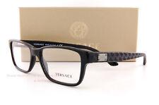 brand new versace eyeglass frames 3198 gb1 for men black 100 authentic sz 55