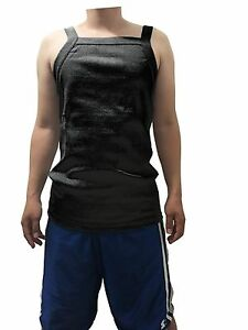 122aad50683d5e G UNIT Square Cut Ribbed Tank Top Undershirt Wife Beater Mens Cotton ...
