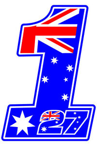 Image Is Loading Casey Stoner 27 NO1 Decal Size Apr 140mm