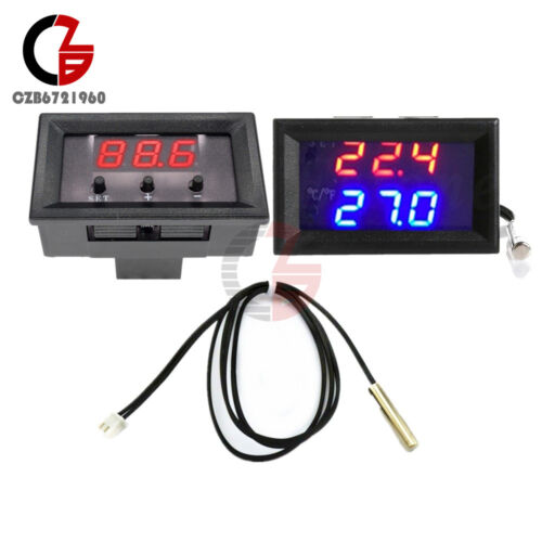 W1209WK W1209 12V Digital Thermostat Temperature Controller Sensor 50-110°C Case