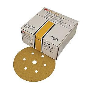 """3M Hookit� Gold Disc D//F 01083 6/"""" P80C 75 discs//bx 1083"""