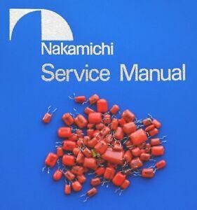 Nakamichi-LX-5-Kit-de-reemplazo-de-PP-Condensador