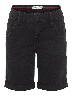 Gerade Name It Jeans Shorts Bermuda Nkmryan Dnmcartus Schwarz Größe 128 Bis 164
