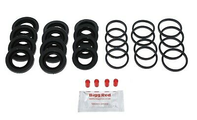 PORSCHE 911 3.6 CARRERA 2001-05 FRONT L /& R Brake Caliper Seal Repair Kit 4021