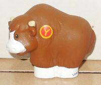 Fisher-Price Current Little People Y Yak Figure A to Z learning Zoo FPLP