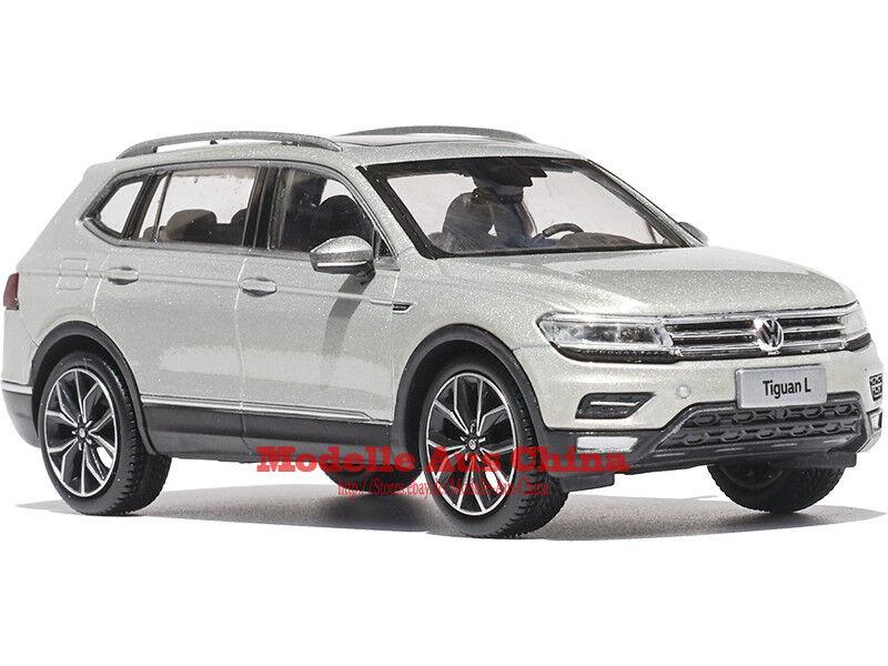 1 43 SAIC Volkswagen 2017 Tiguan Argent Islandais Métallisé Édition Distributeur