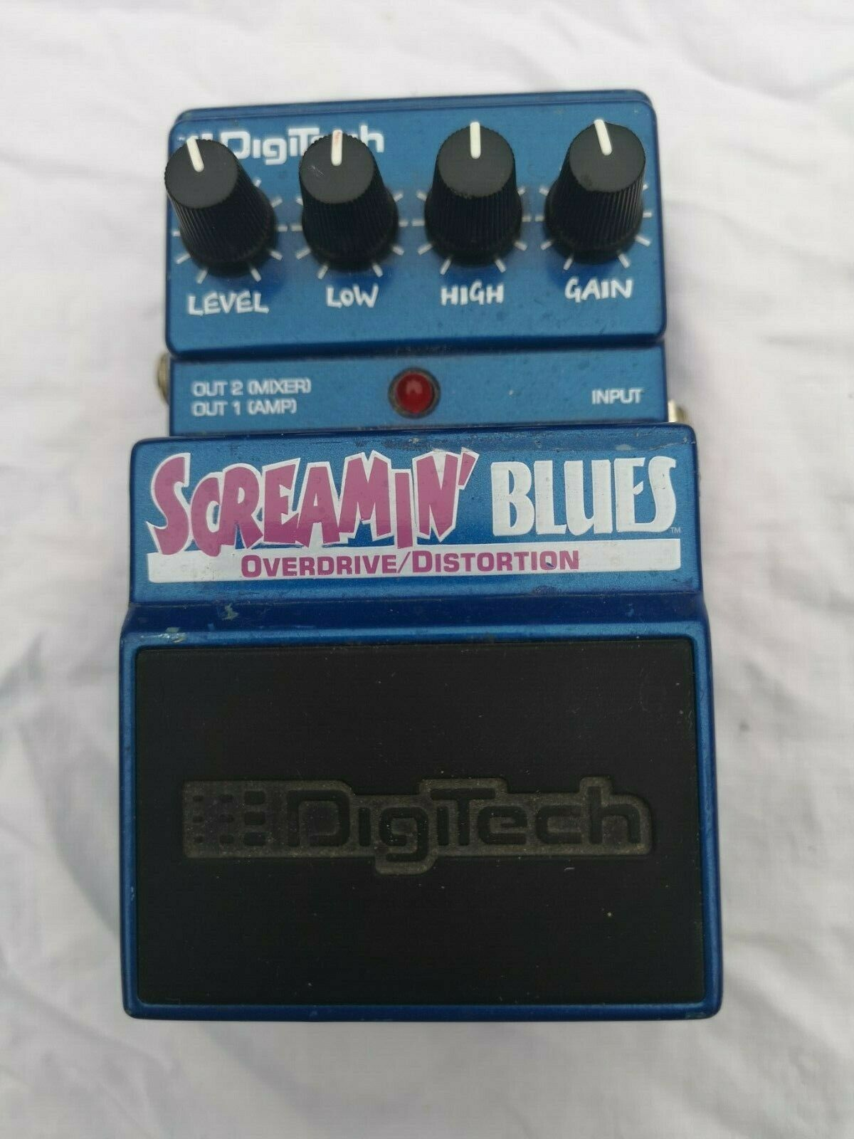DIGITECH SCREAMIN' BlauS OVERDRIVE - FREE NEXT DAY DELIVERY IN THE UK