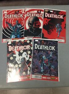 DEATHLOK #1-5 AVENGERS NOW   EDMONDSON PERKINS TROY