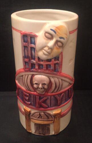 Details about  /Jekyll Hyde Tiki Mug Mask Skull Eyeball DW 510
