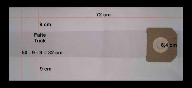 Staubsaugerbeutel für Siemens Converto VR 40A00 VR 49A99*** *** 20 Qualitäts