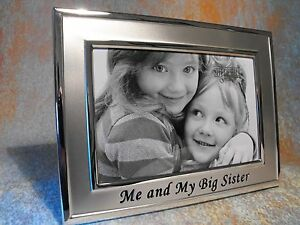 Sisters Photo Frame Sister Brother Photo Frame Big Sister Photo
