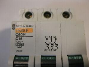 Merlin Gerin C60HC  2 pole Circuit Breaker C4,C6,C10,C16