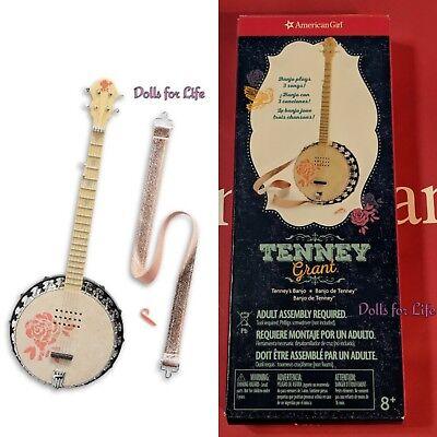 American Girl Tenneys Banjo New in Box