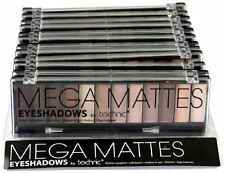 Technic Mega Mattes Nudes Eyeshadow Palette - Natural Makeup Smokey Eyes Browns