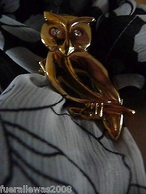 Tuchhalter Schalhalter Tuchclip Tuchbrosche Metall goldfarben Scarf Clip Elefant