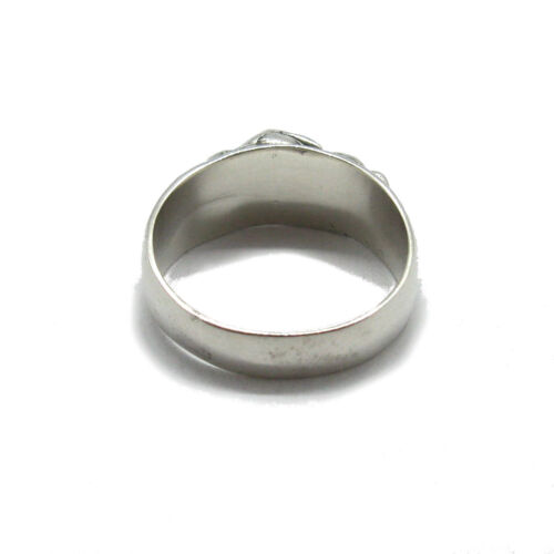 Genuine sterling silver ring Lovers couple makes love solid hallmarked 925