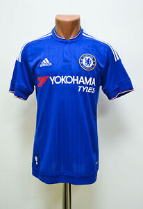 CHELSEA-LONDON-2015-2016-HOME-FOOTBALL-SHIRT-JERSEY-ADIDAS-SIZE-S-ADULT