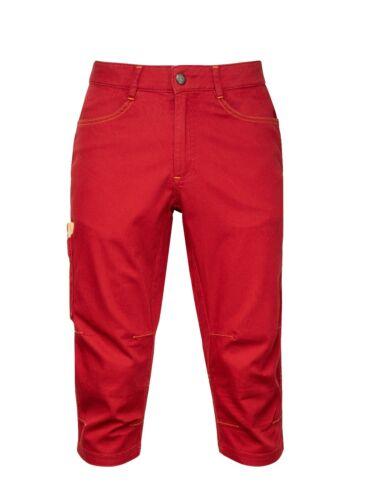 Chillaz Elias 3//4 Pant Men 3//4 Long Mens Climbing Pants outdoorhose Red
