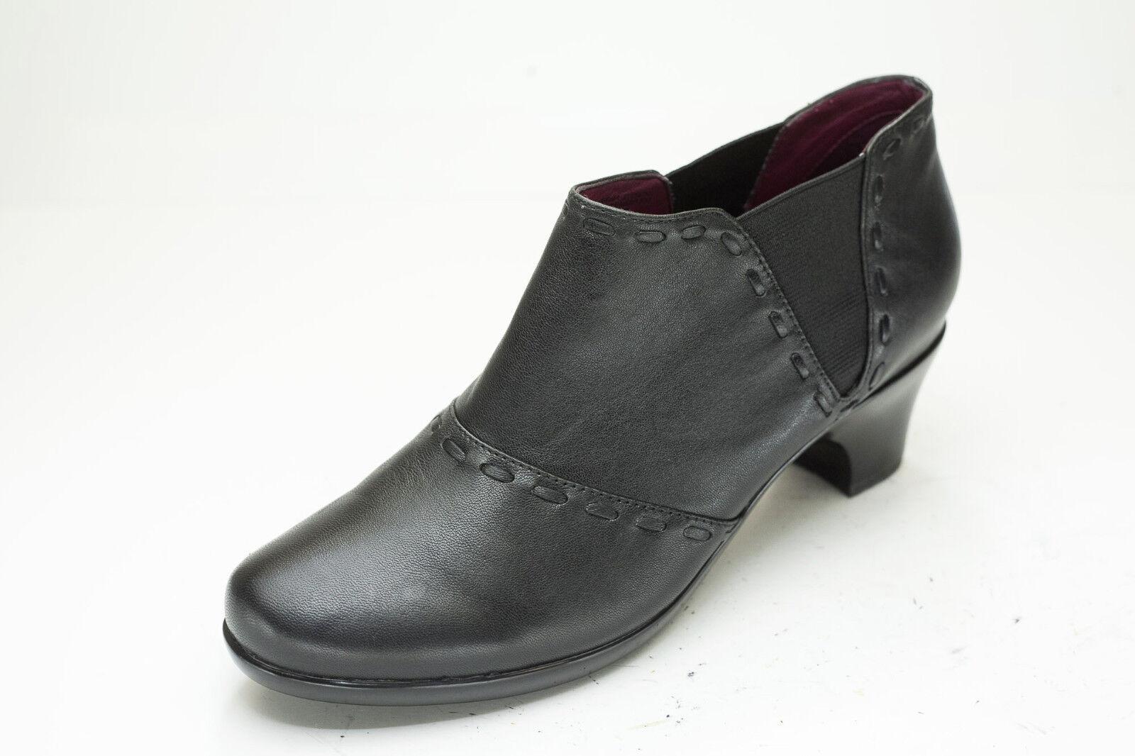 Abeo 9 Negro Chelsea Occidental botas al al botas tobillo para mujer 29098d