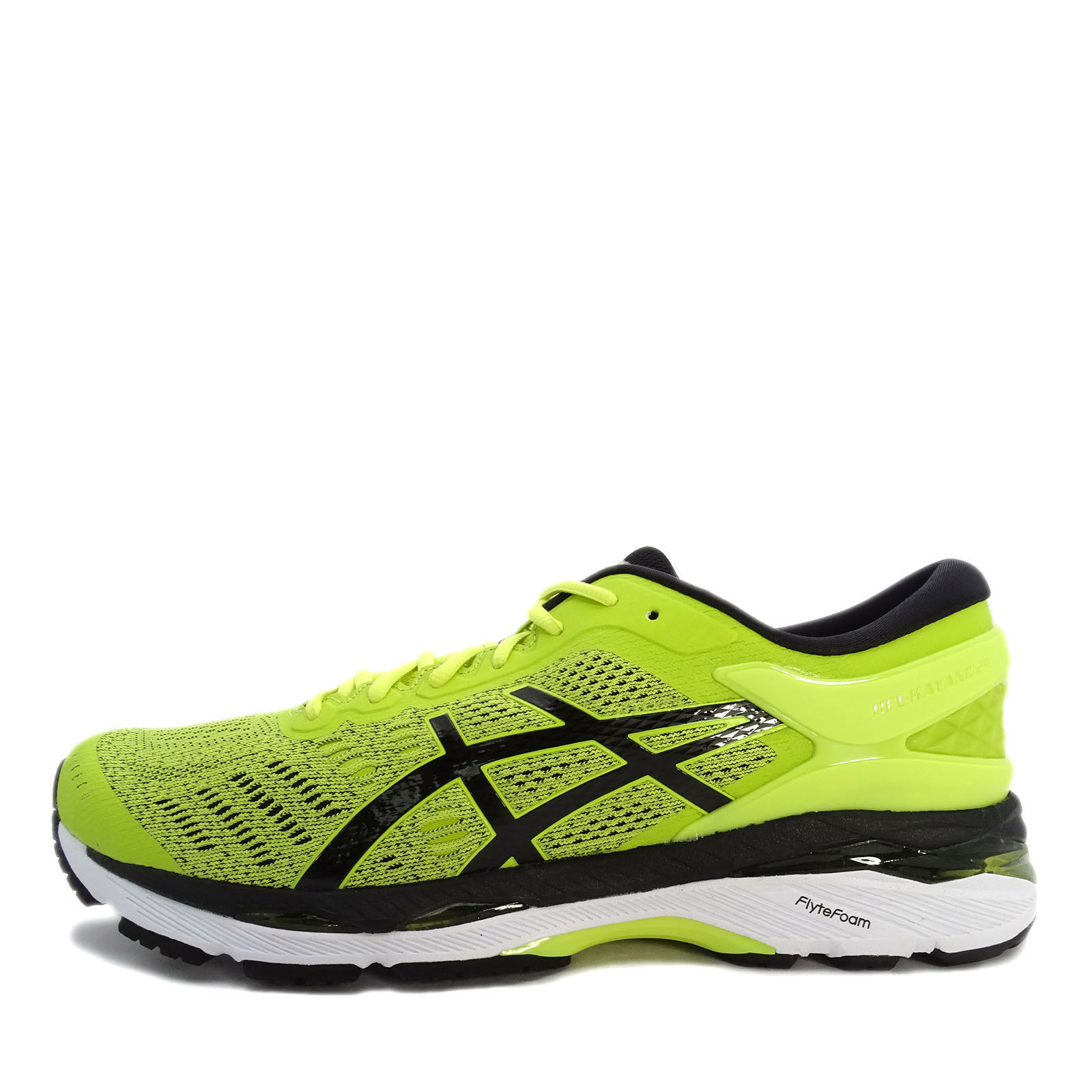 Asics GEL-Kayano 24 [T749N-8990] Men Running Shoes Sulphur/Black