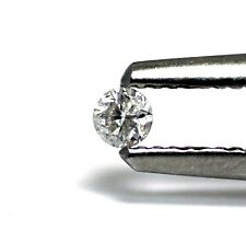 loose individual round diamond melee 2.3mm 2.4mm I3 gray 0.06ct 0.07ct vintage
