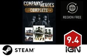 Company Of Heroes Complete Edition Pc Steam Download Key Fast Delivery Ebay