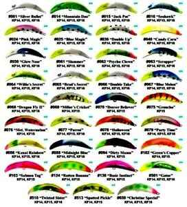 BRAD-S-KILLER-FISH-FISHING-LURE-Choice-of-size-amp-Color