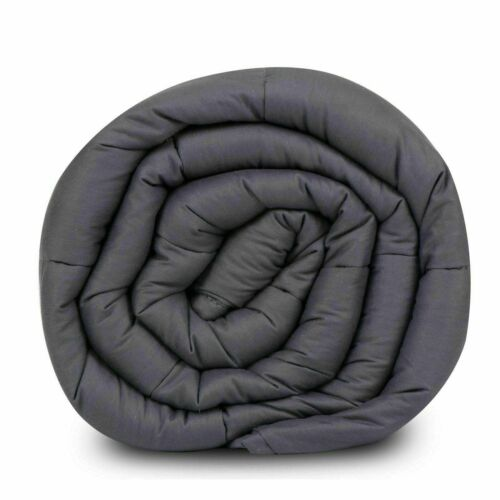 Weighted Sensory Blanket Gravity Anxiety Deep Sleep Breathable Twin//Queen//King