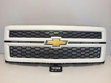 GM 23194174 2014-15 SILVERADO 1500 BODY COLORED GRILL WHITE W/ BLACK MESH GAZ 50