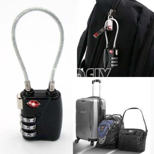 UK TSA Security Code Lock Combination Travel Suitcase Luggage Bag Padlock