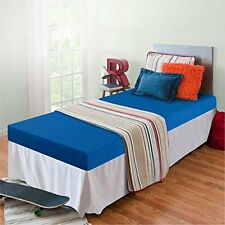 """Zinus Sleep Master Memory Foam 5"""" Bunk Bed-Trundle Bed-Day Bed Mattress - Blue"""