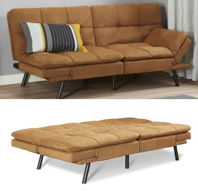 Memory Foam Futon Sofa Bed Couch
