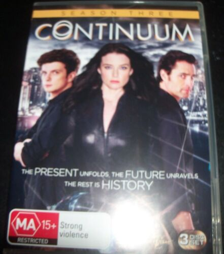 1 of 1 - Contimuum Complete Third Season Three 3 (Australia Region 4) DVD - Like New