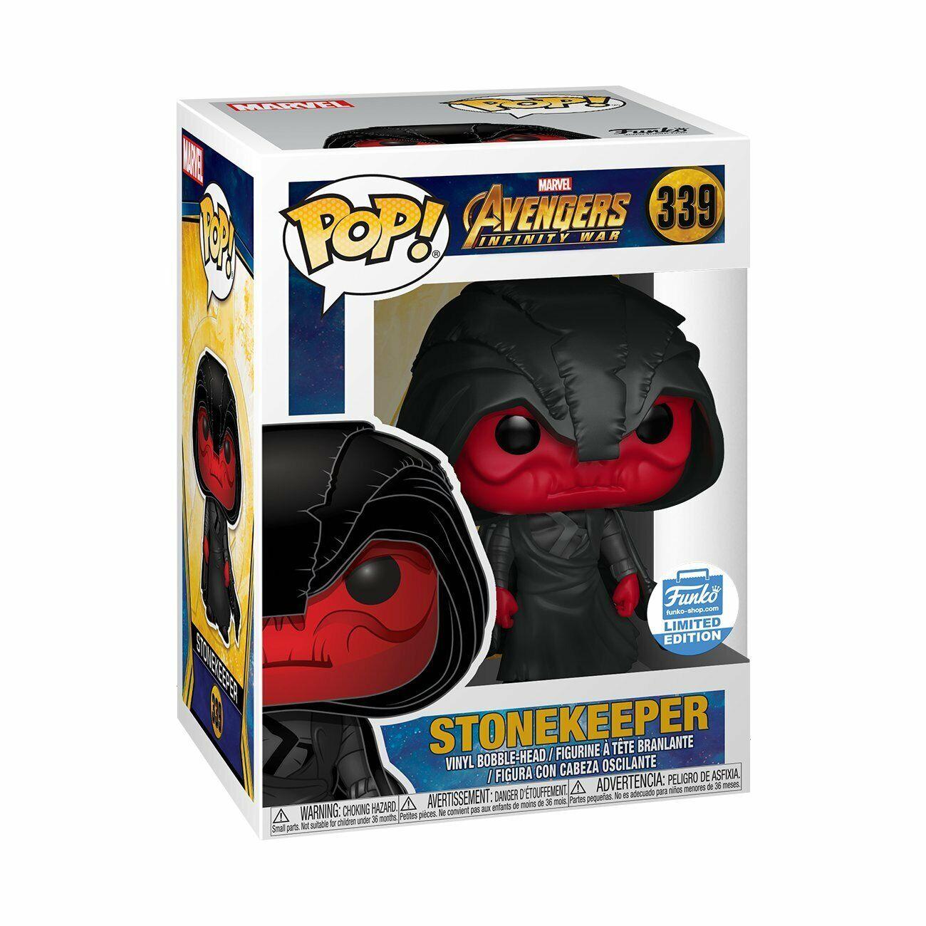 Pop  Marvel   Avengers Infinity War Stonekeeper Exclusive  339 diverdeimentoko  negozio outlet