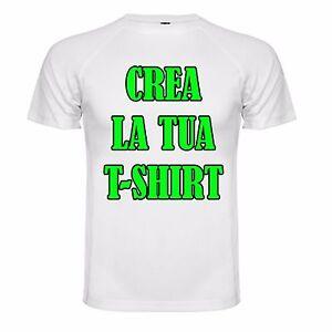 Crea-la-Tua-T-Shirt-Maglia-in-Poliestere-con-Stampa-Sublimatica-a-colori