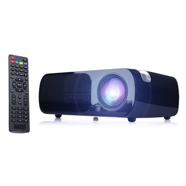 7500lm Hd Home Theater Multimedia Lcd Led Projector 1080: IRulu 2600 Lumens LCD Home Cinema Theater Projector