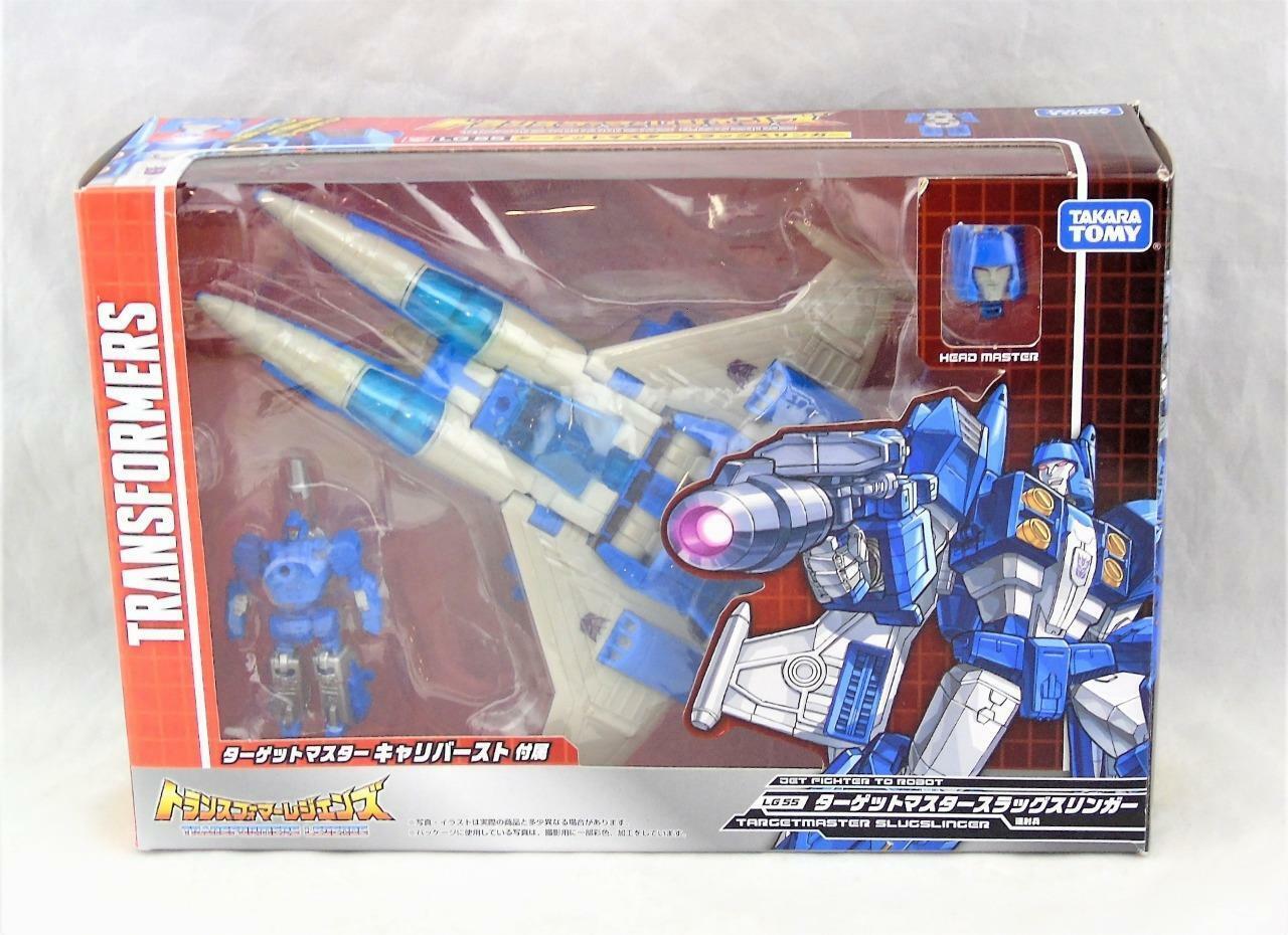 Transformers Takara Legends LG-55 Slugslinger Targetmaster Deluxe Complete Complete Complete 23d258