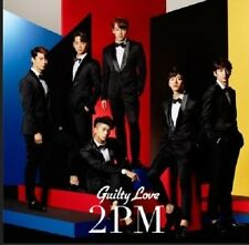 KPop 2PM Guilty Love (CD, regular edition) w/ photo card Japan Release