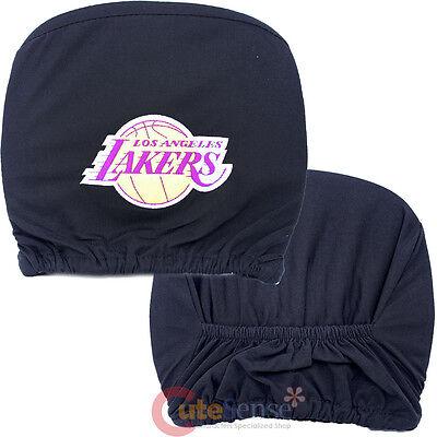 Fanartikel Basketball WunderschöNen Los Angeles Lakers Auto Kopfstütze Cover 2pc Set Nba Auto Zubehör