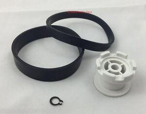 Dyson-DC03-DC04-DC07-DC14-DC27-DC33-Clutch-Repair-Kit-Belts-amp-White-Wheel