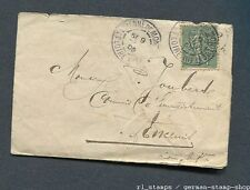 France : Old cover from 1905 - used