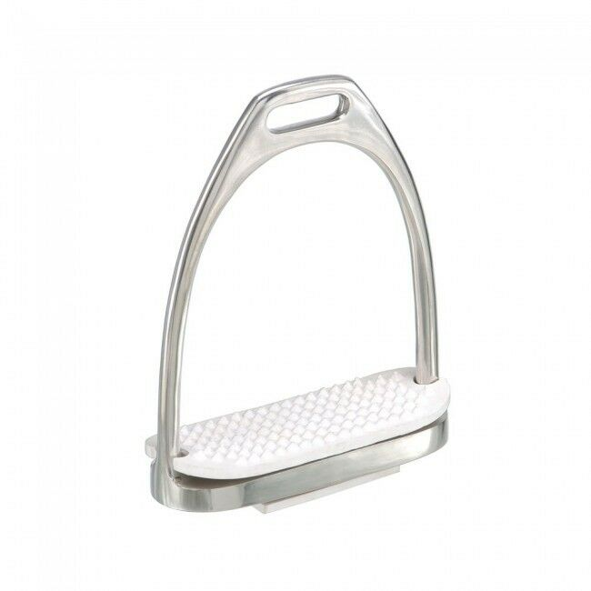 YOUTH Kids Stainless Steel Equiroyal English Fillis Stirrups Irons Grips Pads