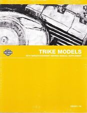 2014 Harley Trike FLHTCUTG Tri Glide Repair Service Manual Supplement 99601-14